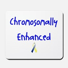 Chromosomally Enhanced Ribbon Mousepad