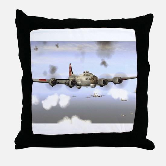 Cute Aircraft Throw Pillow