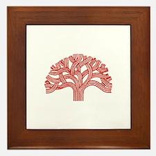Oakland Cherry Tree Framed Tile