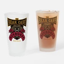 The Bear Cave Alehouse NC Drinking Glass