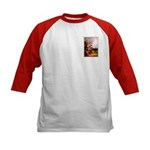 VINTAGE DOG ART Kids Baseball Jersey