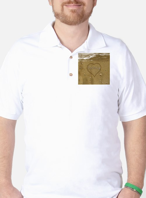 Zachery Beach Love Golf Shirt