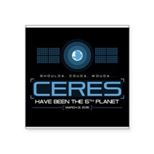 Ceres - black backdrop non clothing Sticker