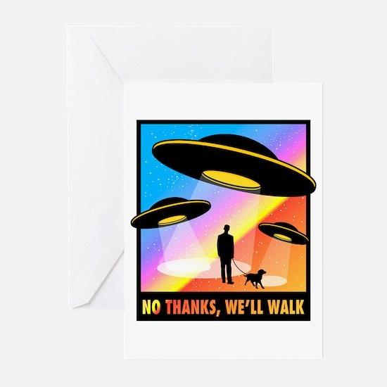 No Thanks, We'll Walk Greeting Cards (Pk of 10)