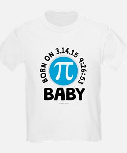 Born on 3.14.15 9:26:53 Baby T-Shirt