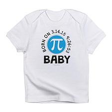 Born on 3.14.15 9:26:53 Baby Infant T-Shirt