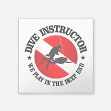 Dive Instructor (Deep End) Sticker