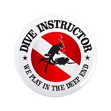 "Dive Instructor (Deep End) 3.5"" Button"