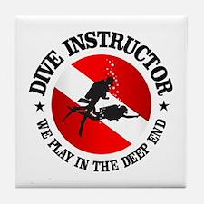 Dive Instructor (Deep End) Tile Coaster