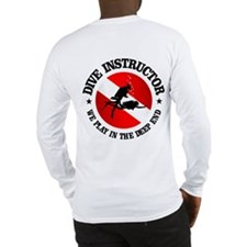 Dive Instructor (deep End) Long Sleeve T-Shirt