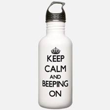 Keep Calm and Beeping Water Bottle
