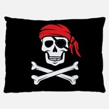 Pirate Skull and Crossbones Dog Bed