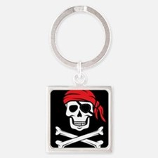 Pirate Skull and Crossbones Keychains