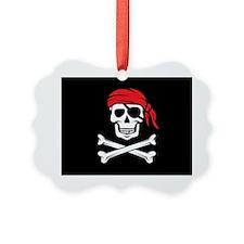 Pirate Skull and Crossbones Ornament
