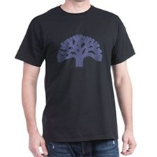 Periwinkle Oakland Tree T-Shirt