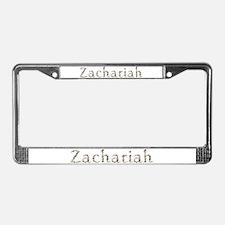 Zachariah Seashells License Plate Frame