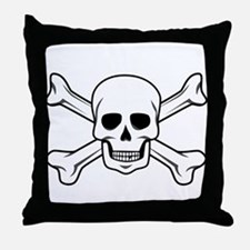Unique Jolly roger Throw Pillow