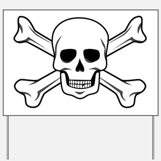 Cool Skull Yard Sign