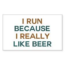 I run because I really like be Decal
