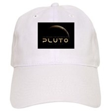 Pluto - black backdrop - non clothing Baseball Cap