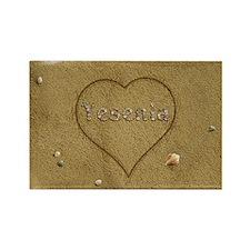 Yesenia Beach Love Rectangle Magnet (100 pack)
