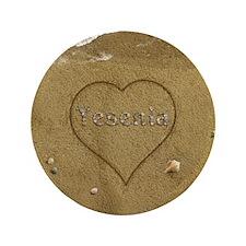 """Yesenia Beach Love 3.5"""" Button"""