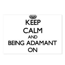 Keep Calm and Being Adama Postcards (Package of 8)