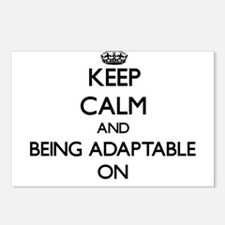 Keep Calm and Being Adapt Postcards (Package of 8)