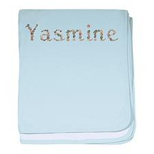 Yasmine Seashells baby blanket