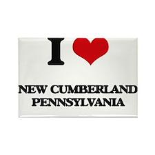 I love New Cumberland Pennsylvania Magnets
