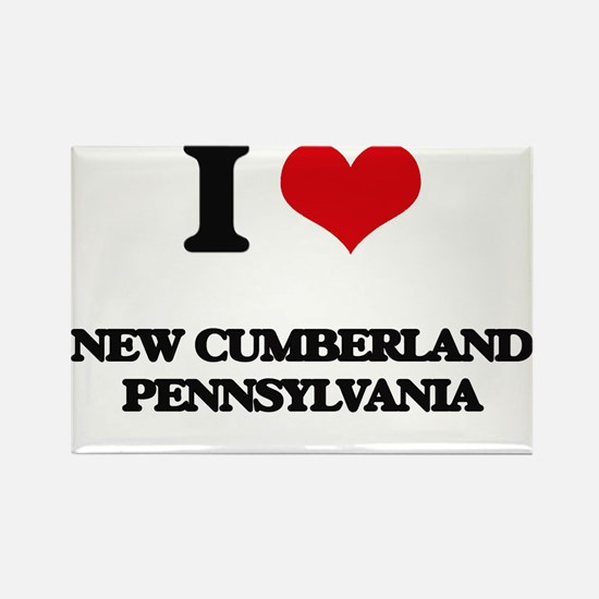 I love New Cumberland Pennsylvania Magnets