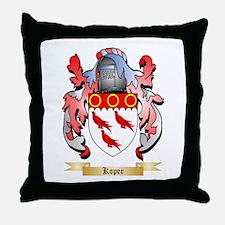 Koper Throw Pillow