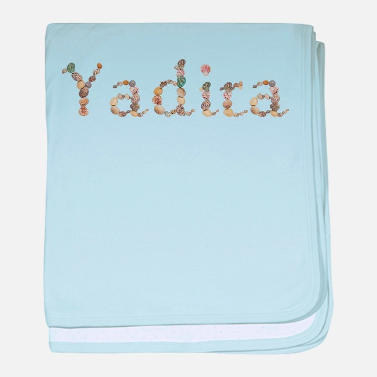 Yadira Seashells baby blanket