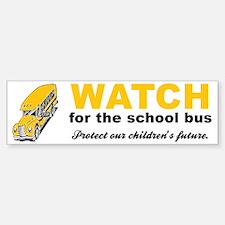 Watch for School Bus Vinyl Bumper Bumper Bumper Sticker