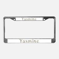 Yasmine Seashells License Plate Frame