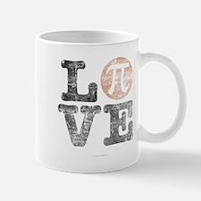 Love Pi Day Distressed Mugs