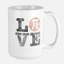 Love Pi Day Distressed Mugs