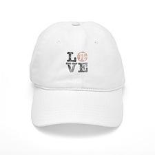 Love Pi Day Distressed Cap