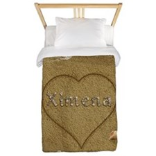 Ximena Beach Love Twin Duvet
