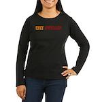 City Dweller Women's Long Sleeve Dark T-Shirt