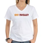 City Dweller Women's V-Neck T-Shirt