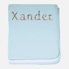 Xander Seashells baby blanket