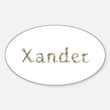 Xander Seashells Oval Decal