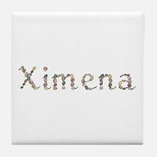 Ximena Seashells Tile Coaster