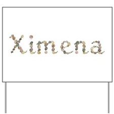 Ximena Seashells Yard Sign