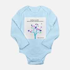 Anything Is Possible Butterflies Body Suit