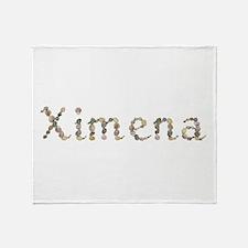 Ximena Seashells Throw Blanket