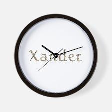 Xander Seashells Wall Clock