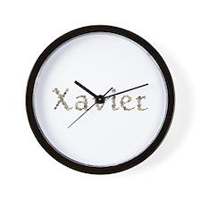 Xavier Seashells Wall Clock