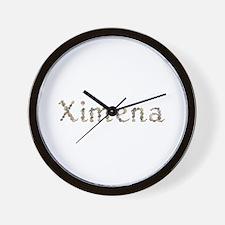 Ximena Seashells Wall Clock